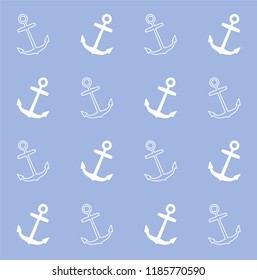 Continuous vector drawing about nautical. Abstract background, banner, wallpaper, wrapping paper, background, web, fabric and textile pattern can be used.