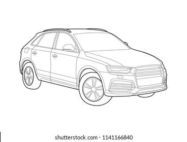 Audi Vehicle Stock Vectors Images Vector Art Shutterstock