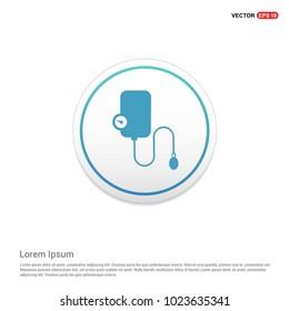 Contour medical mechanical tonometer icon Hexa White Background icon template