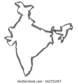 Contour with smoke effect - India