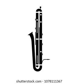 Contrabassoon (double bassoon) instrument