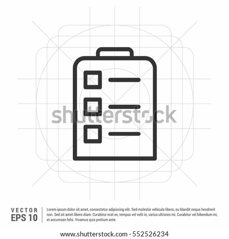 Contract Icon Agreement Signature Pact Accord Stock Vector Royalty