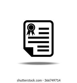Contract Single Icon