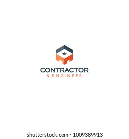 contractor and engineer logo
