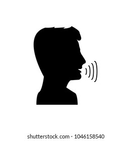 Conversation and talking human. Conversation vector human.
