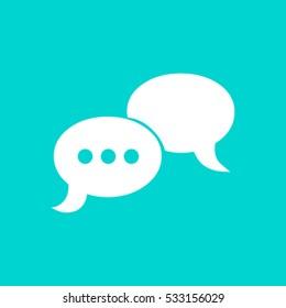 conversation vector icon