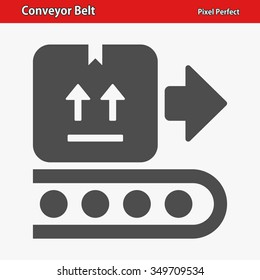 Conveyor Belt Icon. Professional, pixel perfect icons optimized for both large and small resolutions. EPS 8 format.