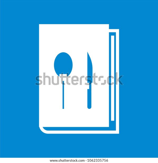 Cook book icon, Recipe book vector