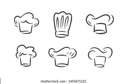 Cook hat logo. Cookery, restaurant symbol. Vector illustration