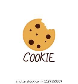 cookies logo images stock photos vectors shutterstock https www shutterstock com image vector cookie cartoon vector logo design 1199553889
