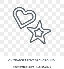 cookie cutter icon. cookie cutter design concept from Kitchen collection. Simple element vector illustration on transparent background.