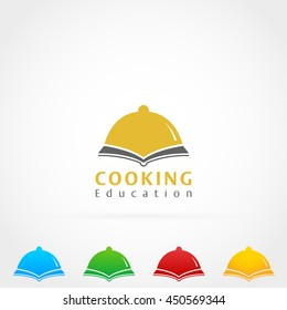 Cooking Book Education Logo