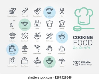 Cooking Food vector icon
