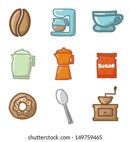 cooking icons over white background vector illustration