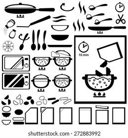 Imágenes fotos de stock y vectores sobre Time Food Icone