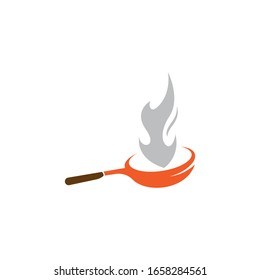 Cooking logo template vector icon illustration design