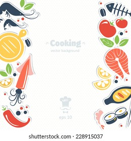 cooking objects background
