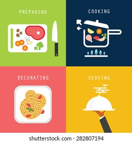 Cooking process food