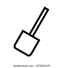 Cooking spoon, spatula, line icons - Vector