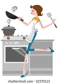 Cooking - Vector