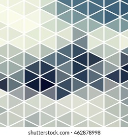 Cool Abstract geometric background with colorful triangles