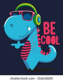 cool dinosaur character design