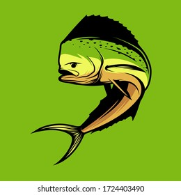 Cool fish vector, easy to use or print