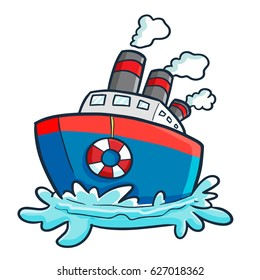 cartoon boat images  stock photos   vectors shutterstock cow vector png cow vector image transparent background