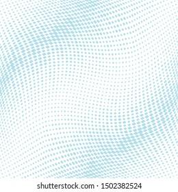 Cool halftone geometric background pattern design.