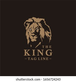 Cool lion head logo, perfect for a great company