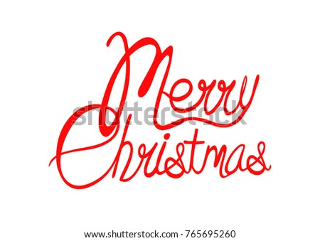Cool Merry Christmas Stock Vector (Royalty Free) 765695260 ...