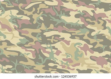 cool seamless camouflage background