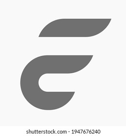 Cool, simple, futuristic and attractive FC Monogram. Good for representing the concept of a speed. A logo that is perfect for any project.