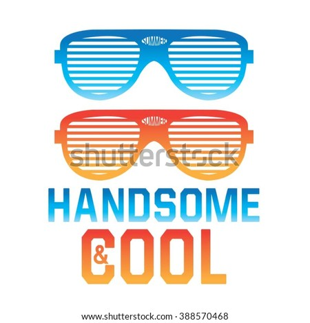 e9dcdf5d6df6 Cool Sunglasses Summer Typography Tshirt Graphics Stock Vector ...