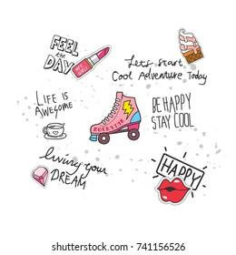 Roller Skates Girl Images, Stock Photos & Vectors | Shutterstock