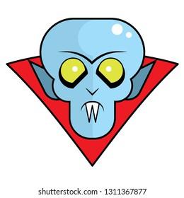 Cool Vampire Nosferatu for Halloween