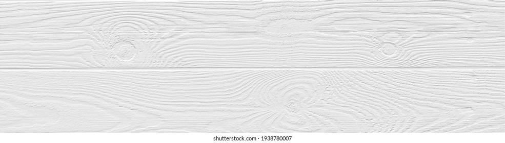 Cool white wood panel texture for backgrounds or design. Rustic wooden  wallpaper. Brushed pine grain wood template with horizontal lines. Vector EPS10.