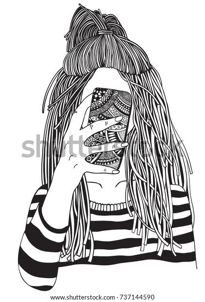 coole schwarz weiß bilder mädchen