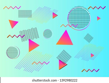 cool youth background, geometric shapes, triangles, pros cons, suitable for storiz, mobile phones, modern design, asymmetry