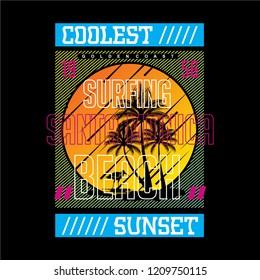 coolest sunset design beach concept