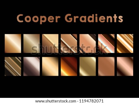 Cooper background gradient color