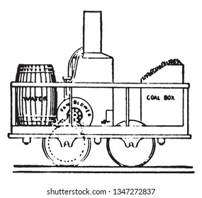 cooper locomotive was the first american built steam locomotive to operate  on a common carrier railroad