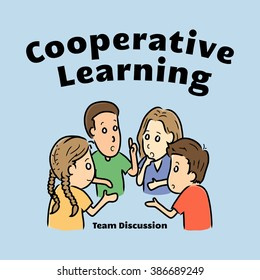 Cooperative Learning Team Discussion