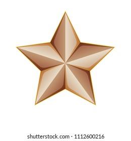 Copper Star illustration
