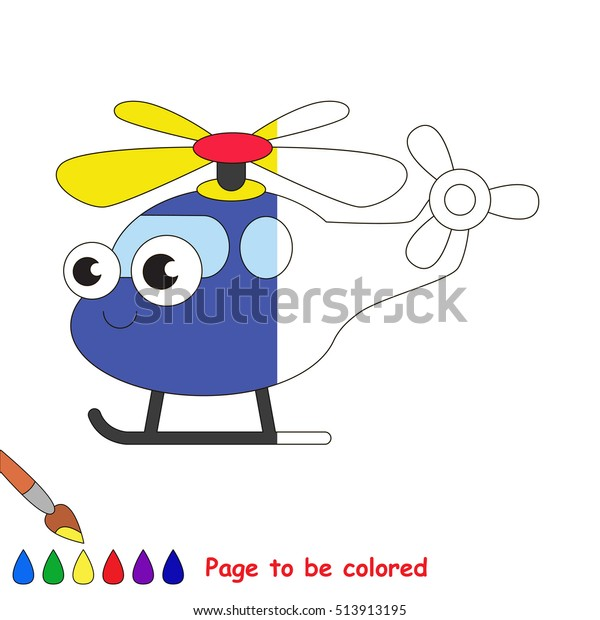 copter be colored coloring book 600w