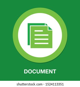 Copy document icon - web page symbol - office file format