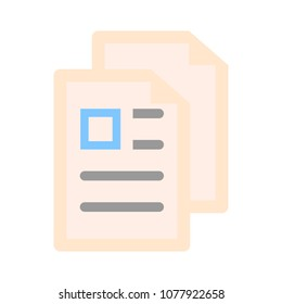 copy or duplicate document icon web page symbol office file format