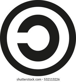 Copyleft icon