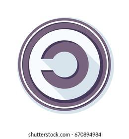 Copyleft Sign Illustration