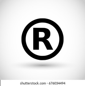 Copyright sign vector